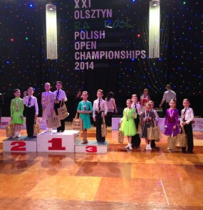 Никита и Мария заняли 1 место на Polish Open Championship 2014