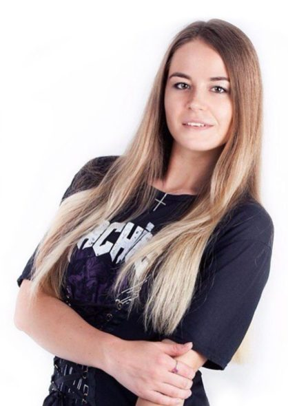 Анастасия Зябликова Тренер по социальным танцам